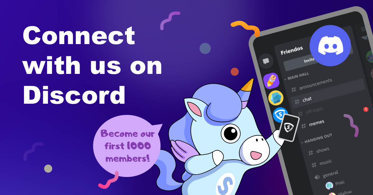 Join SkyVPN Discord Server to Become the First 1000 Members!